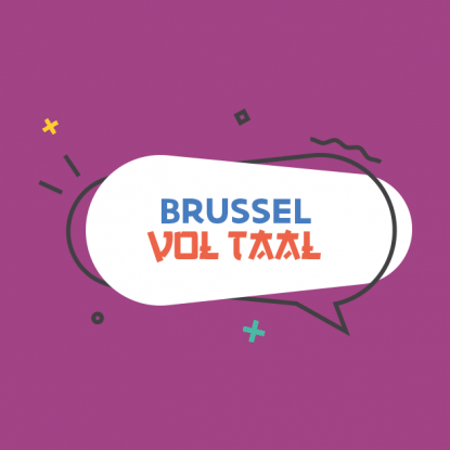 Brussel Vol Taal - logo